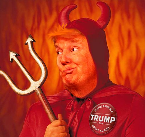 Donald Trump Devil