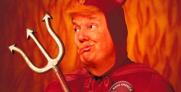 Donald Trump Devil
