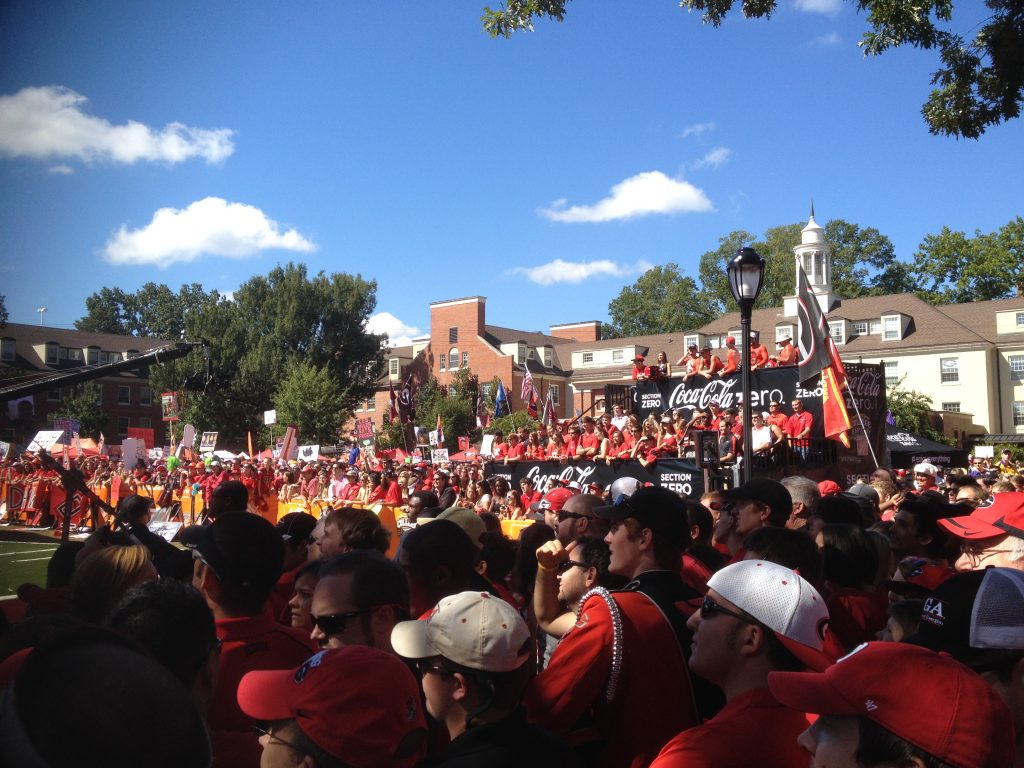 UGA-LSU College Game Day ESPN Athens