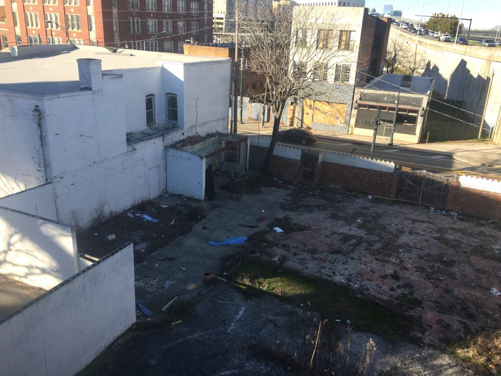 Trinity House - empty lot - sweet auburn district - downtown atlanta