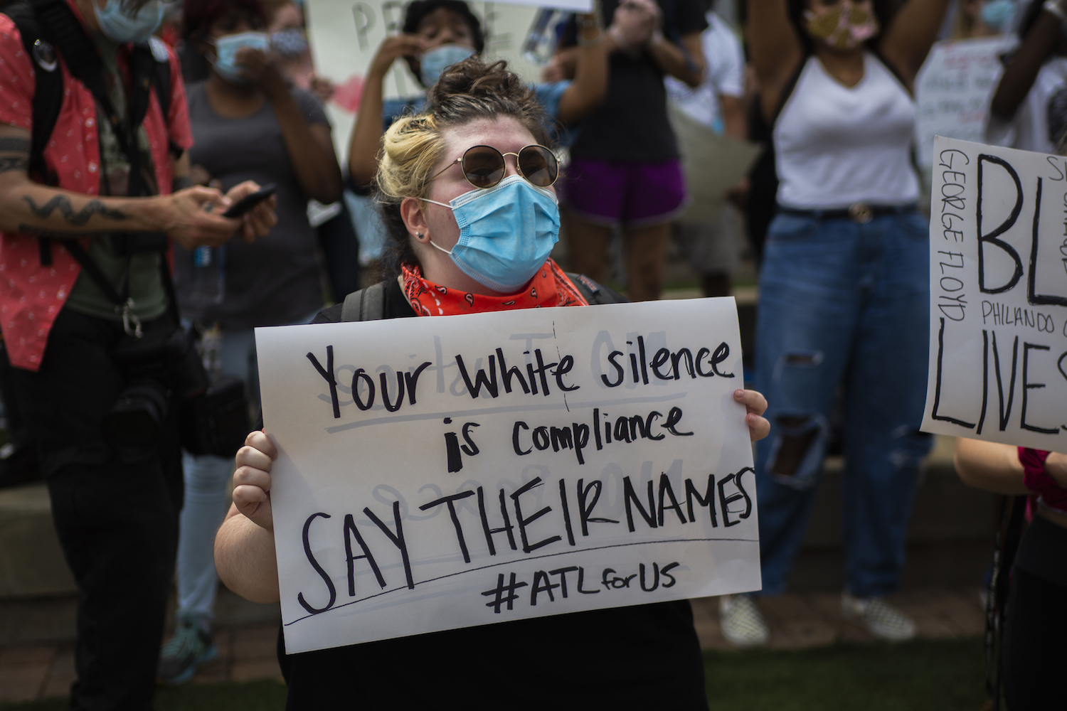 White_Silence_Compliance_Say_Their_Names_ATL